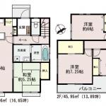 【渡鹿4丁目】新築戸建