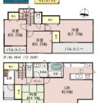 【近見4丁目】1号棟 新築戸建