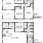 【津久礼第6 Ⅱ期 】14号棟 新築戸建