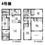 【戸島西 第3】4号棟 新築戸建
